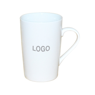 Custom Logo Ceramic Coffee Mug 12oz