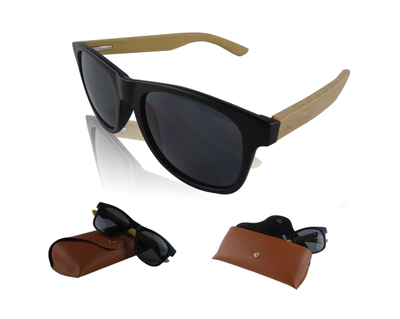 Bamboo Arms Custom Promotional Sunglasses With Pouch