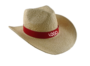 Custom Logo Promotional Straw Cowboy Hat