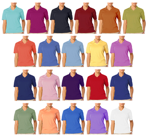 Custom Unisex Short Sleeves Polo T-shirt