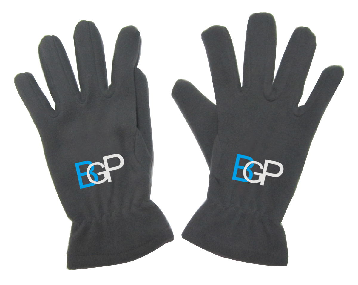Unisex Custom Outdoor Winter Warm Fleece Gloves