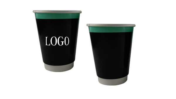 12 oz. Double Wall Paper Cup Cold Hot