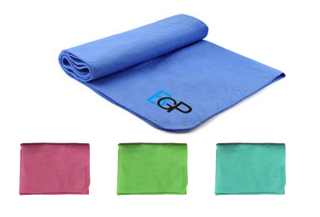 "Custom Logo Sports Gym Athletes Chilly Cooling Towel - 31.5 "" x 13.4 """