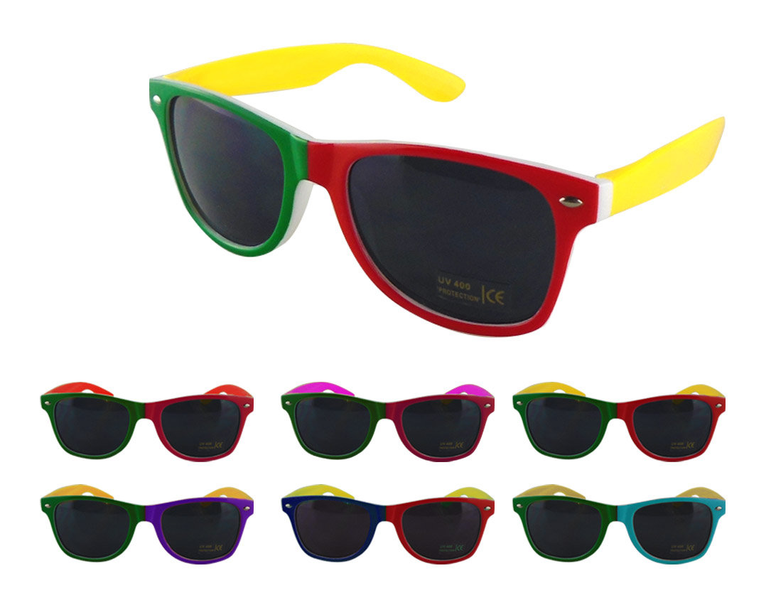 Custom Promotional Fashion Multi-color Sunglasses