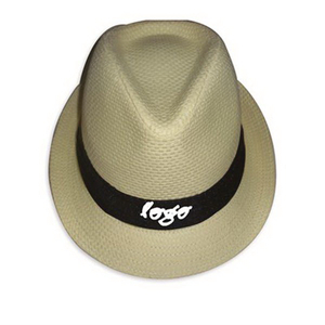 Promotional Straw Custom Fedora Hat