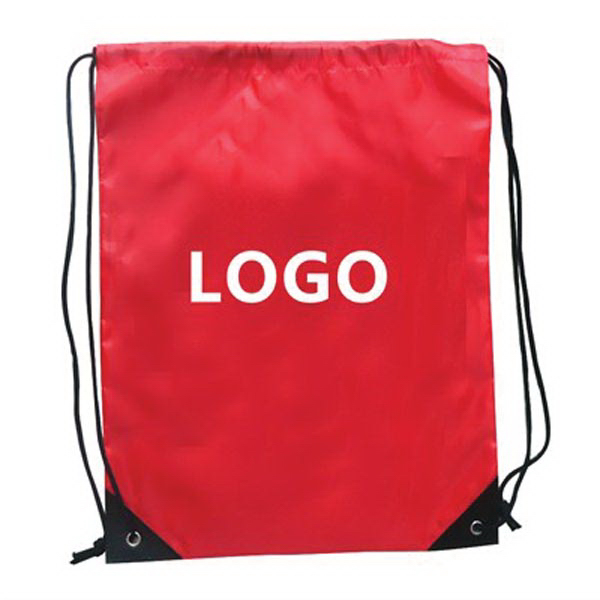 "Promotional Drawstring Backpack 13 "" x 16 """