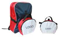 17 X 12.5 X 5.5 Inch School Backpack With Lunch Bag