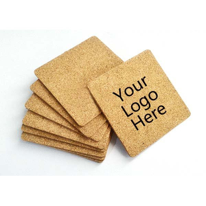 Imprinted Square Soft Wood Coaster
