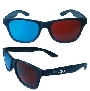 Imprinted Red-Cyan 3D Glasses