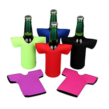 Neoprene Jersey Shirt Bottle Cooler Holder