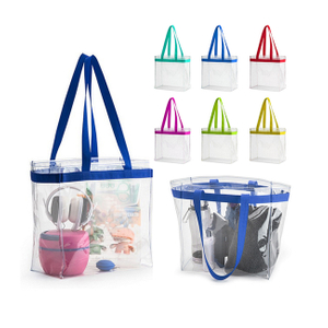 Clear PVC Tote Bags