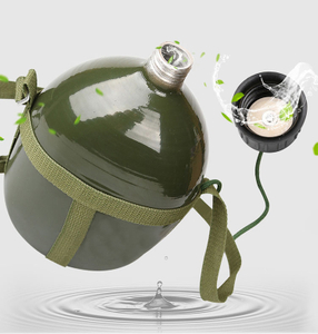 Portable Aluminium Military Army 3L Water Bottle