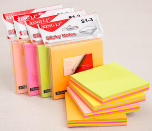3W x 3H inch Sticky Post-it Notepads