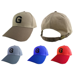 Custom 3D Embroidery Two Color Cotton Baseball Cap