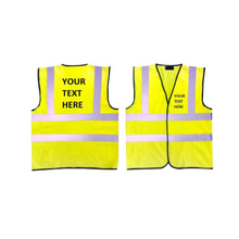 Customized Reflective Hi-Vis Safety Vest