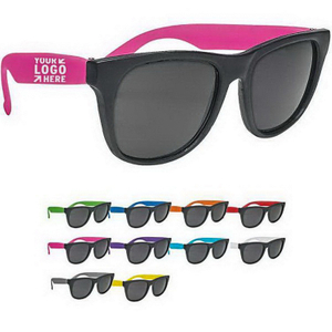 Wholesale custom logo printed Two-Tone Sunglasses