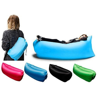 Printed Inflatable Sofa Sleeping Lay Bag