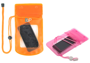Waterproof Cell Phone Carema Pouch With Lanyard