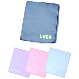 Customized Microfiber Screen Mobile Phone Lens Cleaning Cloth Clearner