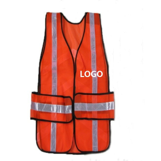 Custom Hi-Vis Safety Mesh Vest