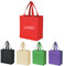 Custom Printed Promotional Non-Woven Gift Shopper Tote Bags