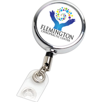 Retractable Metal Badge Reel