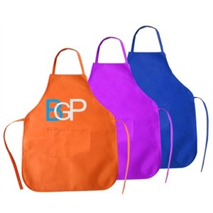 Custom 100GSM Non-woven Apron With Front Pocket