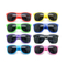 Customized Logo Printed Solid Color Sunglasses