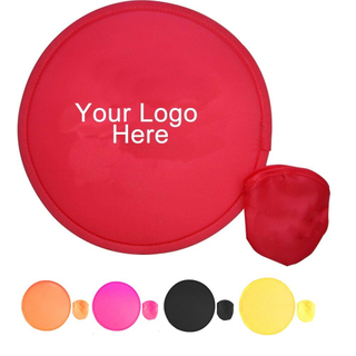 Custom Promotional Polyester Folding Flying Disc with Printed Logo