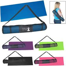 Print PVC Yoga Mat and Carrying Case