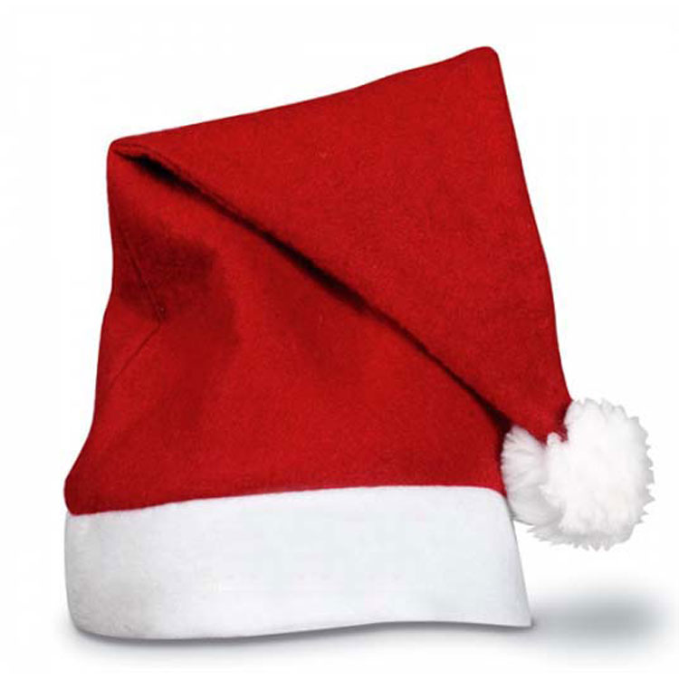 Cheap Felt Christmas Santa Hat