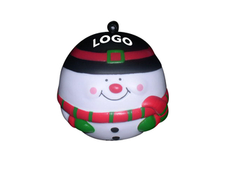Snowman Stress Reliever Ball
