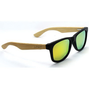 Bamboo Color Film Promotional Sunglasses