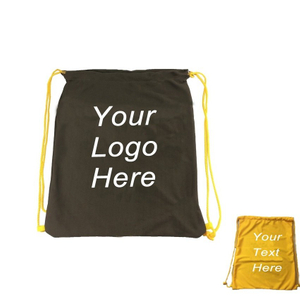 Imprinted Lightweight Sports Drawstring Bag