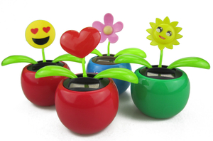 Custom Solar Powered Moving Flower Toy