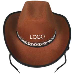 Customized Wool Felt Cowboy Hat