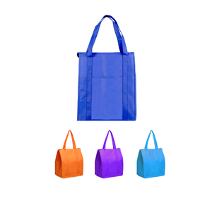 Zippered Insulated Cooler Tote Bag