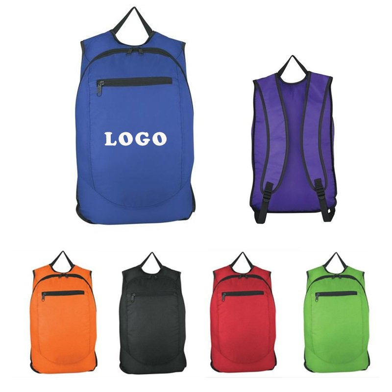 Imprinted Polyester Outdoor Sports Backpack