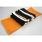 Personalized Sportsman Striped Knit Scarf