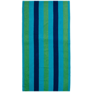 Custom Striped Beach Towel