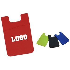 Flexible Soft Silicone Smart phone Wallet