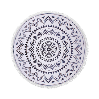 Microfiber Round Large Beach Towel Blanket