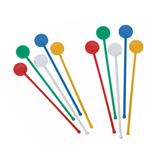Round Head PS Plastic Custom Stir Stick