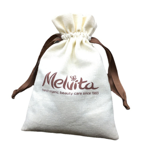 6oz Poly-cotton Laundry Bag With Ribbon