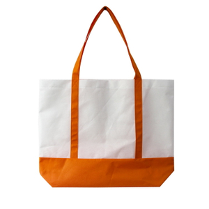 Wholesale Two Tones Deluxe Non-woven Tote Bag
